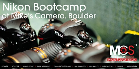 Nikon Boot Camp - Boulder tickets