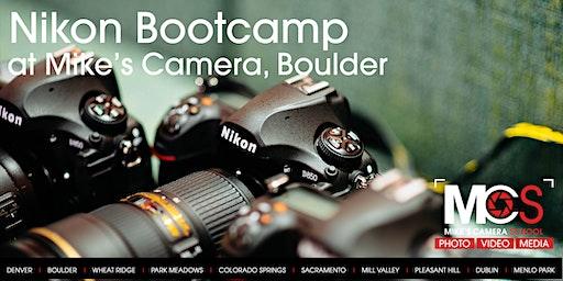 Nikon Boot Camp - Boulder