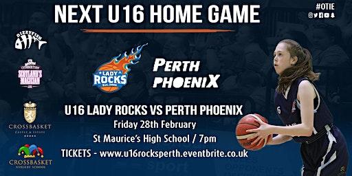 U16 Lady Rocks vs Perth Phoenix