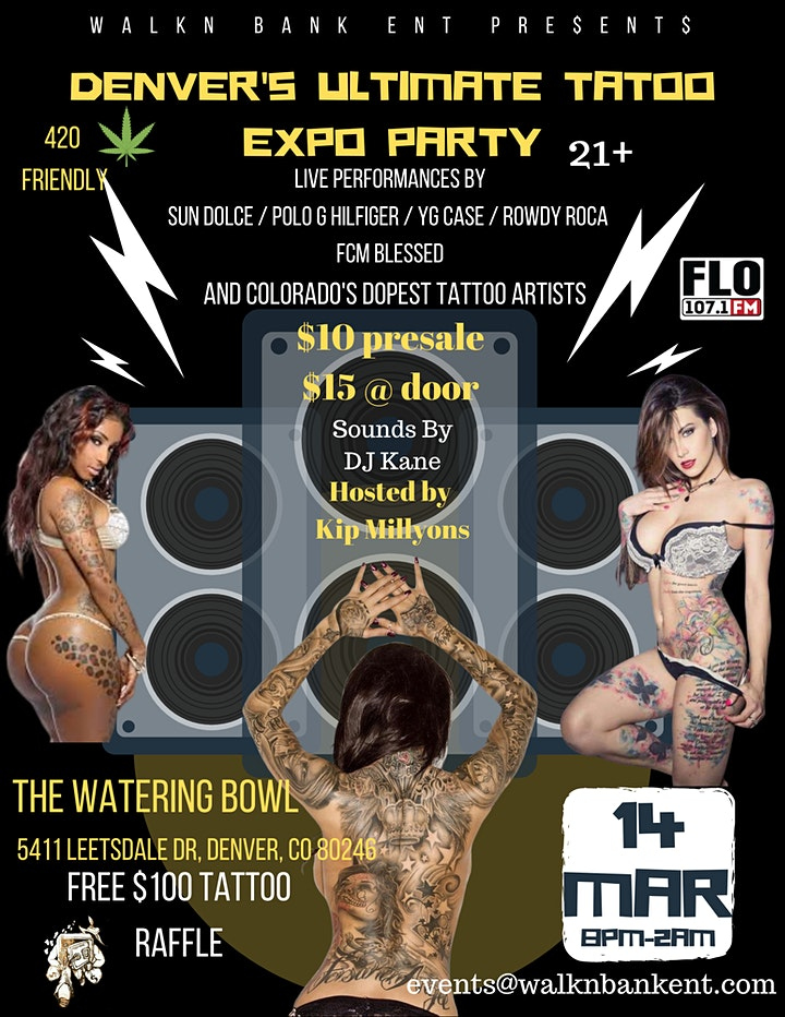 Denver's Ultimate Tattoo Expo Party image