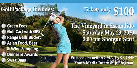 ACMA Sixth Annual Drive Dine and Wine Charity Golf Tournament tickets