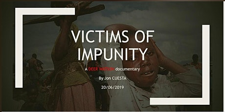 """VICTIMS OF IMPUNITY"" tickets"