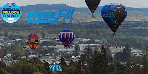"""Wairarapa Balloon Festival's """"First Flight"""" - Masterton"""