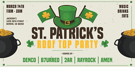 St. Patrick's Roof Top Party tickets