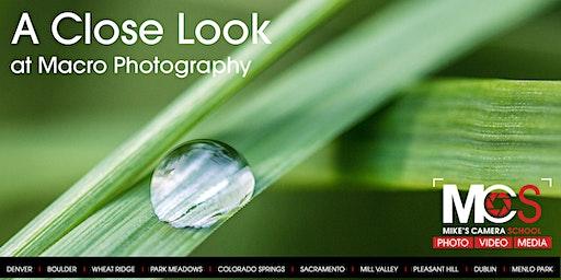 Close Look at Macro Photography