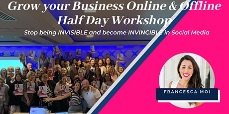 Social Media Half Day Workshop: Become an Expert, go from Invisible to Invincible - Newcastle! tickets