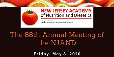The 88th Annual Meeting of the NJAND tickets