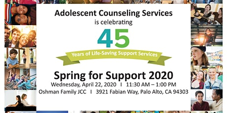 Spring for Support 2020: ACS' Annual Fundraising Luncheon tickets