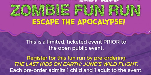Zombie Fun Run with Author Max Brallier