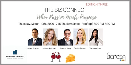 The Biz Connect | When Passion Meets Purpose - Wine & Cheese Networking tickets