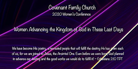 Covenant Family Church  2020 Women's Conference tickets