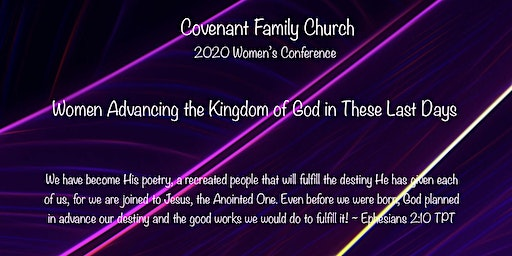 Covenant Family Church  2020 Women's Conference