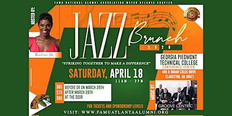 FAMU Metro Atlanta Chapter 2020 Jazz Brunch tickets
