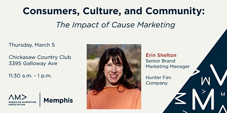 Consumers, Culture, and Community: The Impact of Cause Marketing tickets