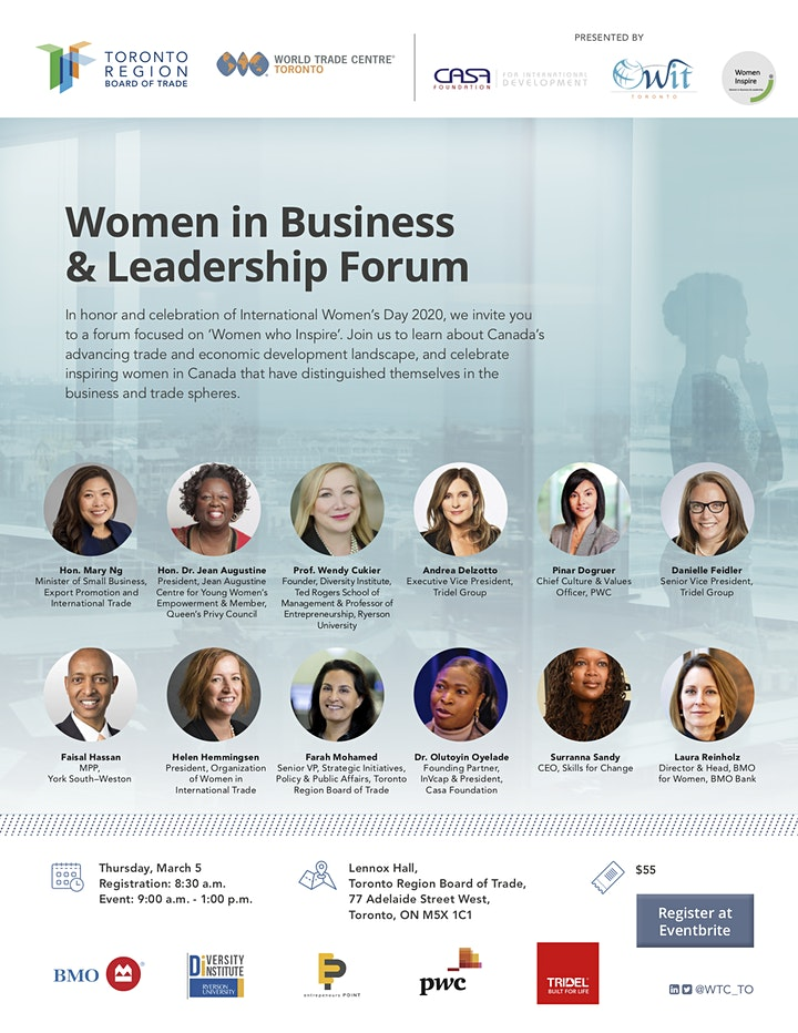 Women in Business and Leadership Forum image