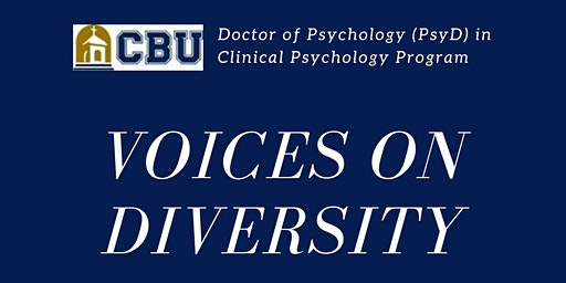"""Voices on Diversity"" PsyD Lectureship"