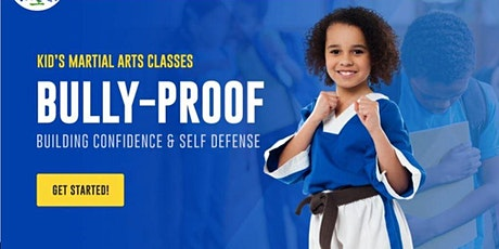 Self-Defense and Bully Proof Workshop form BLACK BELT JUNG's TAEKWONDO tickets