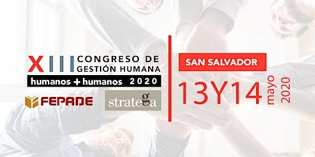 XIII Congreso de Gestión Humana: humanos + humanos boletos