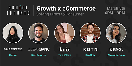 Growth x eCommerce: Solving Direct to Consumer tickets