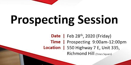 Real Estate Prospecting Feb 28th, 2020 tickets