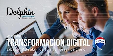 Workshop Transformación digital entradas