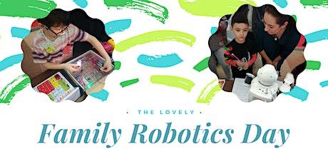 Family Robotics Day tickets