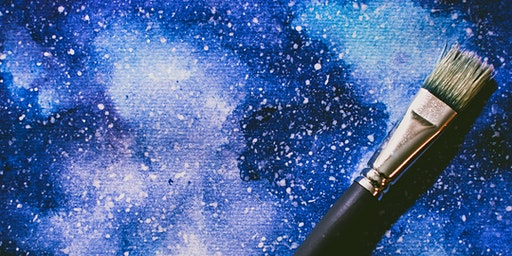 Nightscape Art on Canvas (10 to 17 Years) at Epping Library
