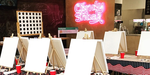 Sip & Paint Party at Candy Shack Baybrook (Daiquiri included)