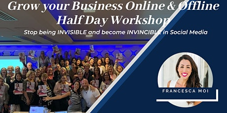 Social Media Half Day Workshop: Become an Expert, go from Invisible to Invincible - Cairns! tickets