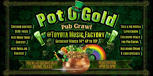 Pot O' Gold Pub Crawl