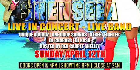 """The Incredible Dancehall Princess """"Shenseea"""" Live in Concert tickets"""