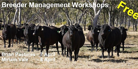 Breeder Management Workshops tickets