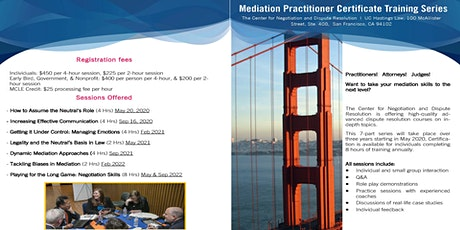 Mediation Practitioner Certificate Training Series tickets