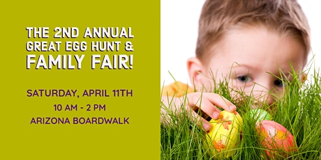 2nd Annual Family Fun Great Egg Hunt & Family Fair! tickets