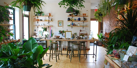 "Houseplant Workshop + ""How to Make a Plant Love You""  Book Signing tickets"