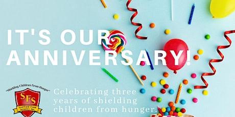 3rd Anniversary Dinner Fundraiser tickets