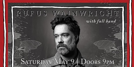 RUFUS WAINWRIGHT – Unfollow The Rules Tour 2020 (late show) tickets