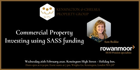 Commercial Property Investing using SASS funding tickets