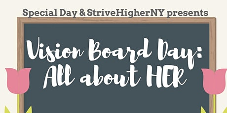 Vision Board Day : All about her tickets