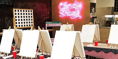 Sip & Paint Party at Candy Shack Washington (Daiquiri included) tickets