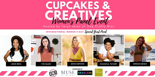 Cupcakes & Creatives Panel Event