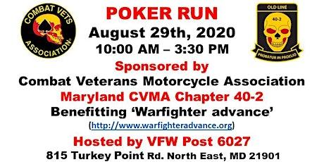 CVMA 40-2 Poker Run - Charity Event tickets
