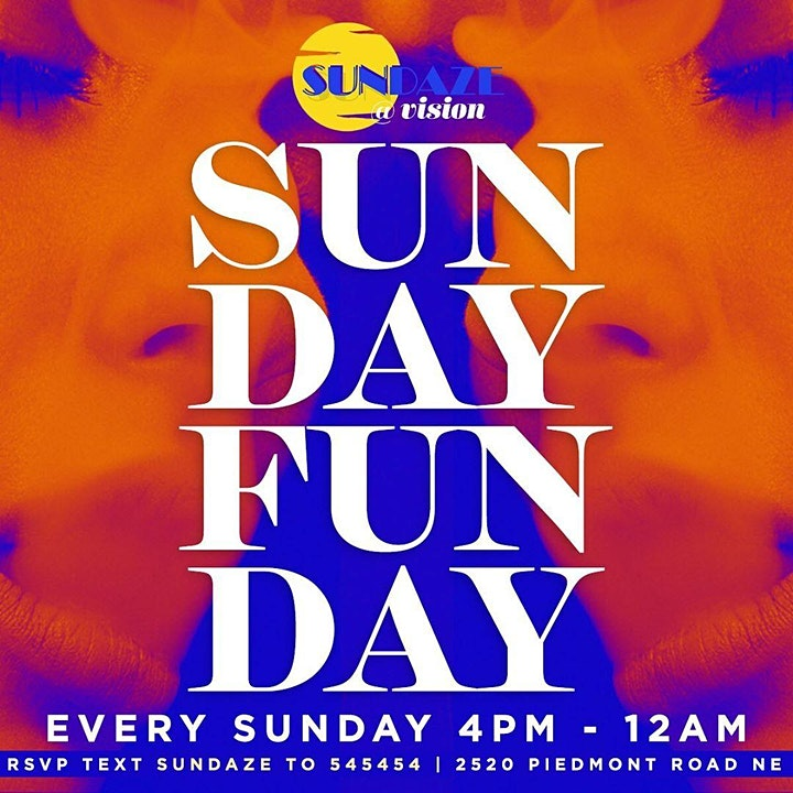 Sundaze Day Party @ Vision is Temporarily Suspended/Sign Up for Updates image