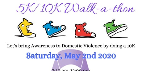 Step Out on Domestic Violence 5K/10K Walkathon tickets