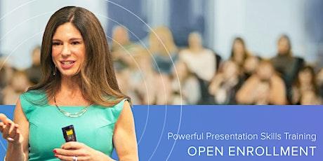Public Speaking & Presentation Skills For Professionals tickets