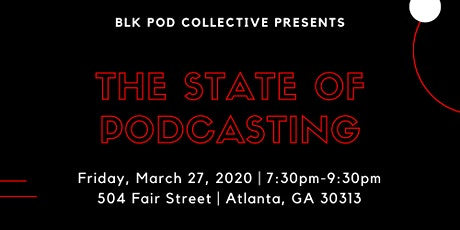 2020 State of Podcasting tickets