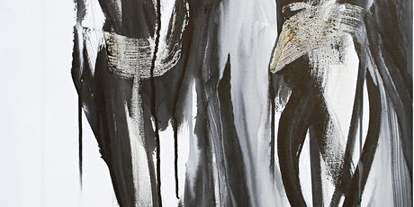 Large-Scale Ink + Charcoal Drawing with Lieng Lay  tickets
