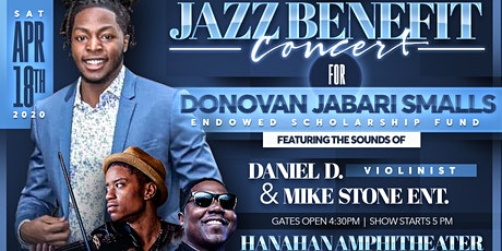 Jazz Benefit Concert for the Donovan Jabari Smalls Endowed Scholarship Fund tickets