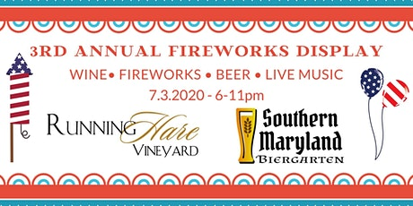 3rd Annual Fireworks Display tickets