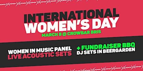 International Womens Day Fundraiser at Crowbar! tickets